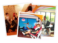 Brochure du club de fitness